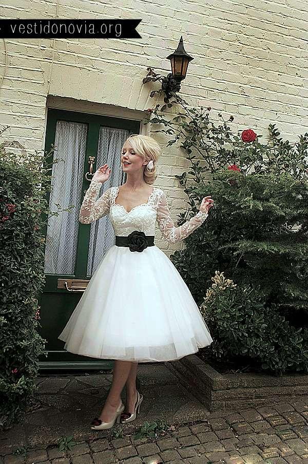 Vestido de Novia falda ancha